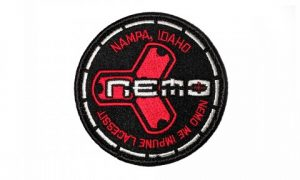 Nemo Round Fabric Patch