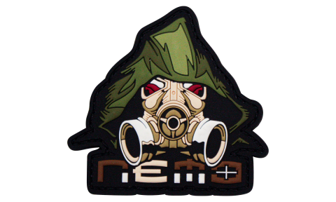 Nemo Gas Mask Patch