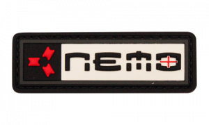 Nemo Red Gray Patch