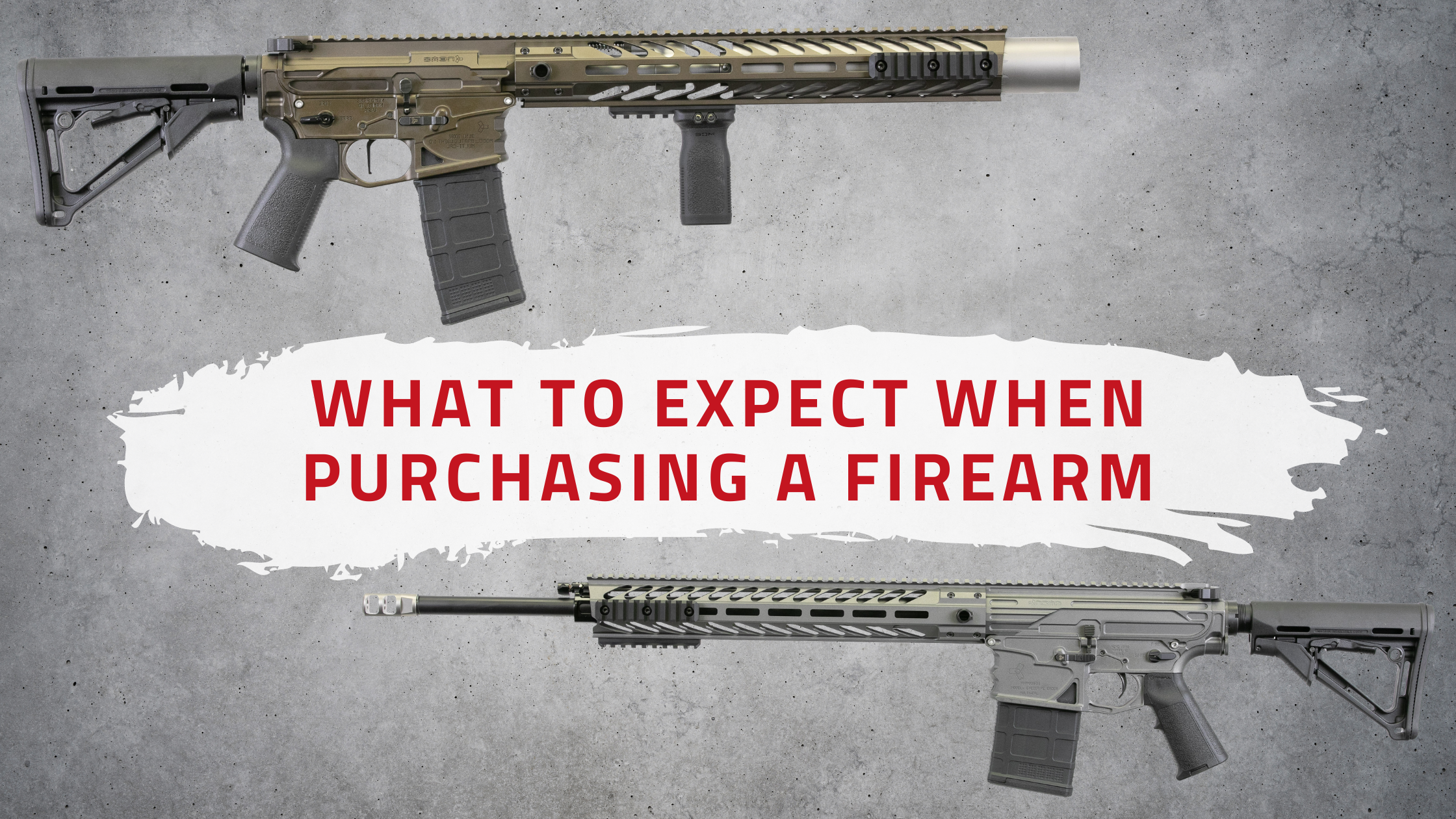 What to Expect When Purchasing a Firearm